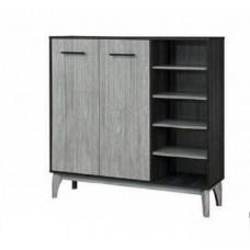 Ika Multifunction Cabinet 2 Door + Rack