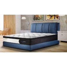 Fabric King Bed